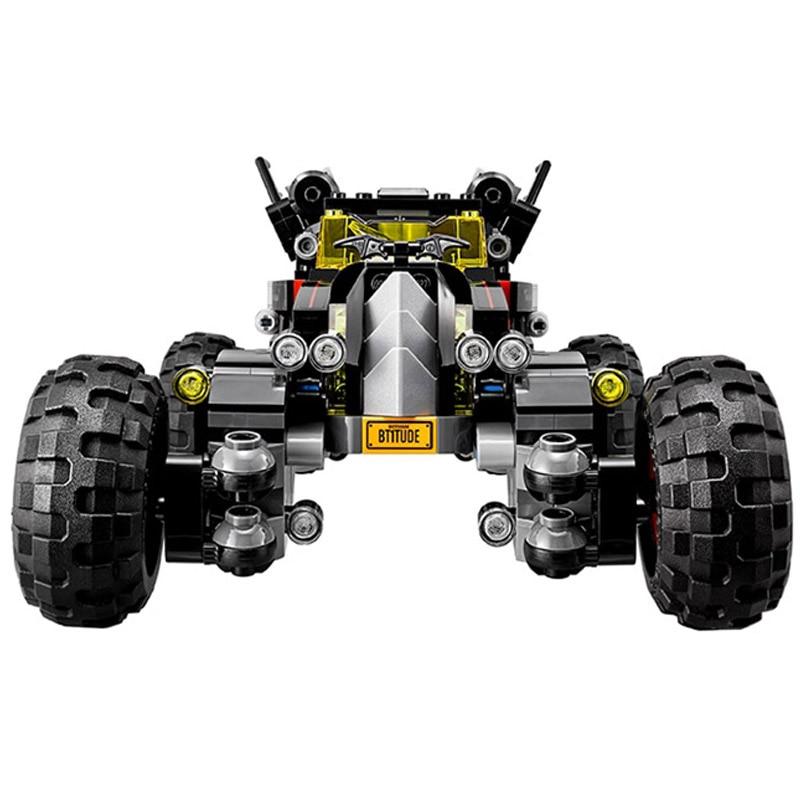 Decool 7126 587pcs Super Heros Series Batman Bat chariot Model Building Block set Bricks Toys For children Boys Gift