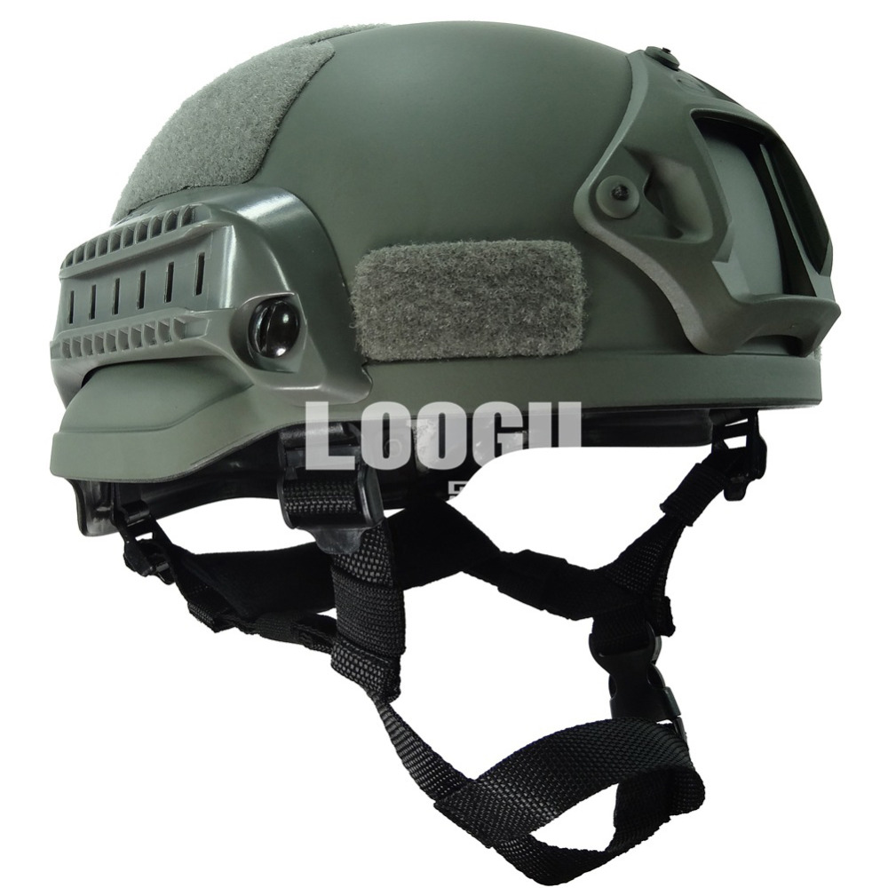 Multifunctional Fast Ops Core Tactical Helmet Outdoor Hiking Climbing Army War CS Game Airsoft Paintball Head Protector Helmet goggles full face masks neck mesh protective outdoors cs war game airsoft paintball field sport equipment tactical masks