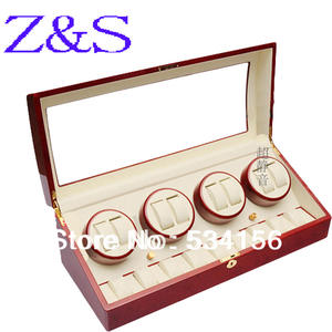 Boxes Watch Winder Automatic 4 9 8 Piano Paint Swivel Plate Authentic Luxury