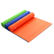 PVC Yoga Mat Thickness Non-Slip Sport Gym Soft Pilates Mats Foldable for Body Building Fitness Exercises Equipment 183*61*6cm(China)