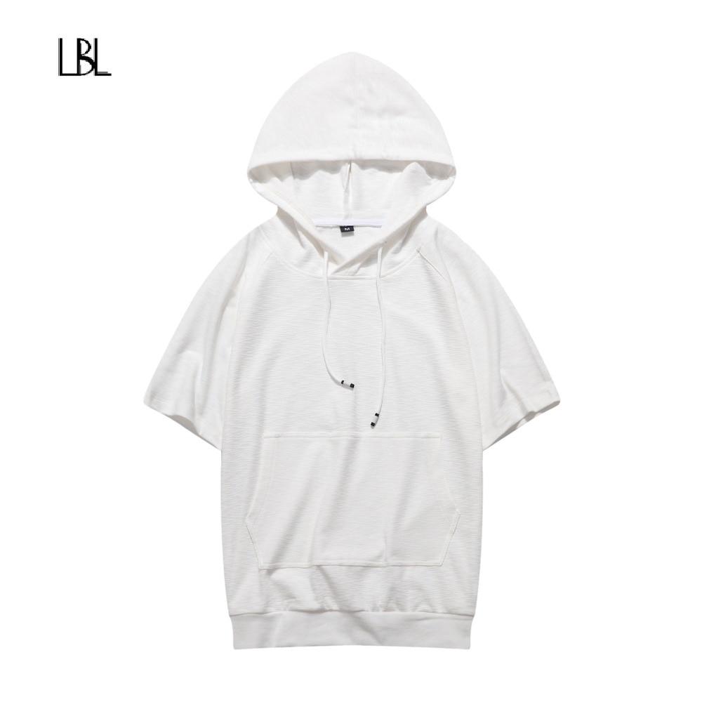 Summer T Shirt Men Fashion Brand Hoody Casual Streetwear Male Joggers Sportswear Men Short Sleeve Tops&Tees New homme De Marque