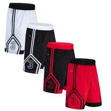 Для баскетбола, высокое качество шорты для тренировок Спортивная одежда для бега фитнес шорты с цифровой печатью Мужские дышащие спортивные шорты