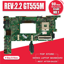 N75SF Motherboard GT555M REV:2.2 RAM For ASUS N75SF N75SL N75S laptop Motherboard N75SF Mainboard N75SF Motherboard test 100% OK(China)