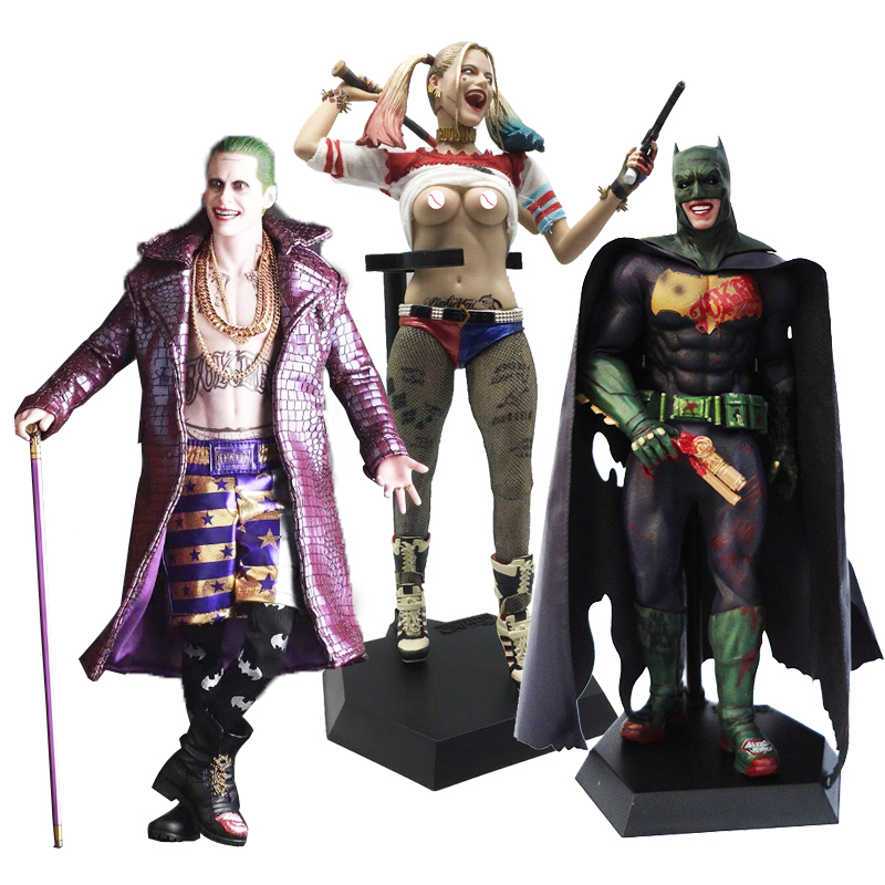 "BATMAN Arkham 5 Pack 6/"" ACTION FIGURE CON BRUCE WAYNE origini CITY Cavaliere ASILO"