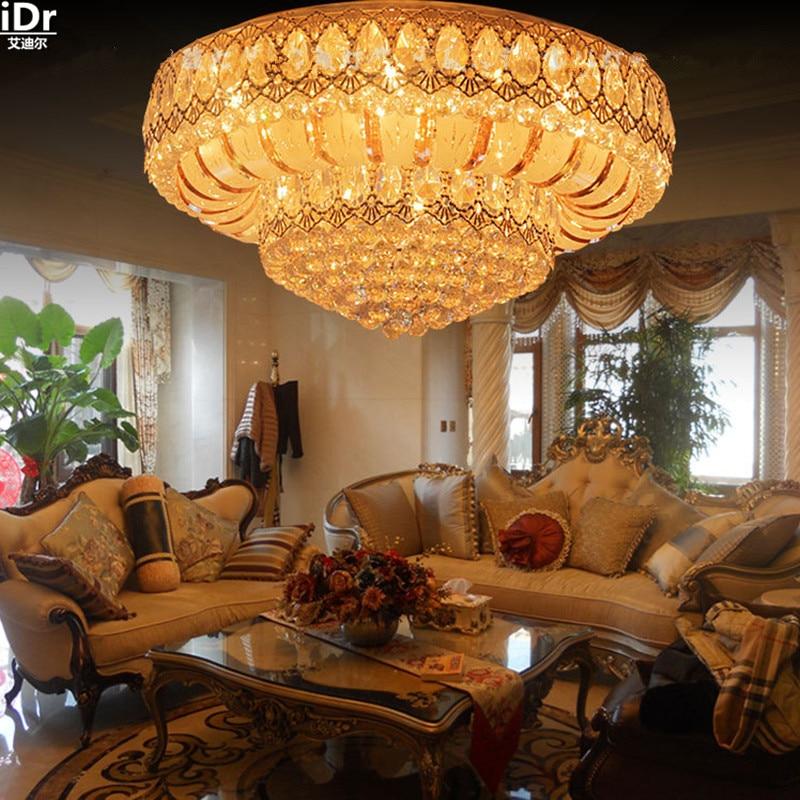 La nouvelle S usine directe bande d'or SMD lampe à LED salon chambre lumières plafonniers Lmy-0133