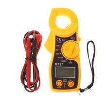 MT87 ЖК-цифровой клещи мультиметр измерительные инструменты AC/DC тестер напряжения тестер сопротивления тока метр