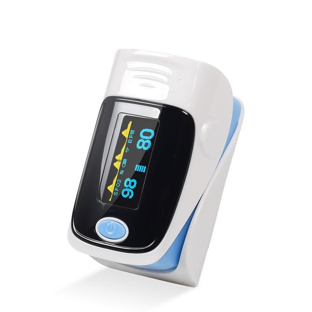 Yongrow Medical Household Digital Fingertip pulse Oximeter Blood Oxygen Saturation Meter Finger SPO2 PR Monitor health Care CE 2