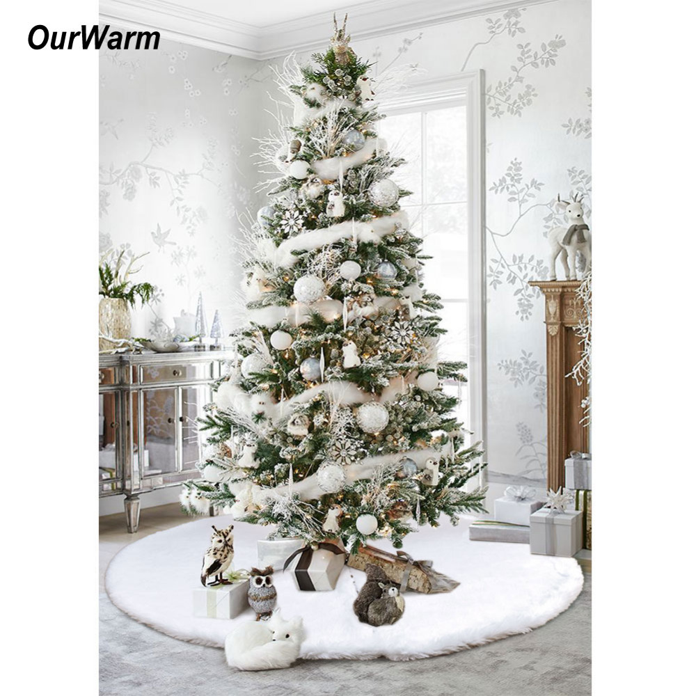 Aliexpresscom Buy OurWarm Christmas Tree Skirts 48inch
