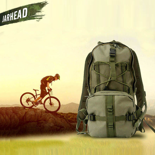 3 Color Military Hydration Backpack 2.5L Water Bag Men Bicycle Climbing Rucksacks Army Ultralight Walking Hydration Bag