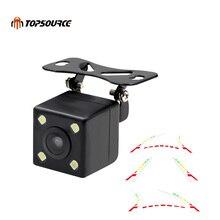 TOPSOURCE расширенный динамический Парковка трек автомобиль обратно обратная CCD Камера заднего вида Камера HD 170 градусов ночного видения Водонепроницаемый