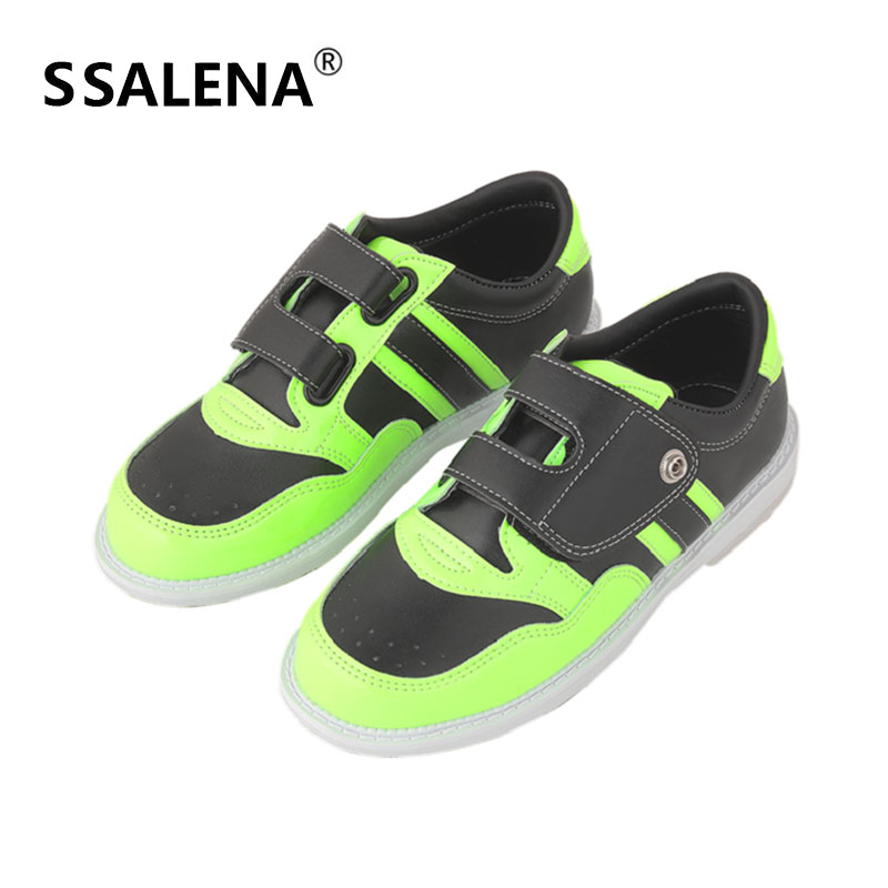 Men Bowling Fitness Sports Breathable Shoes Brands High Quality Hot Professionalt Slip Training Women Shoes AA11045