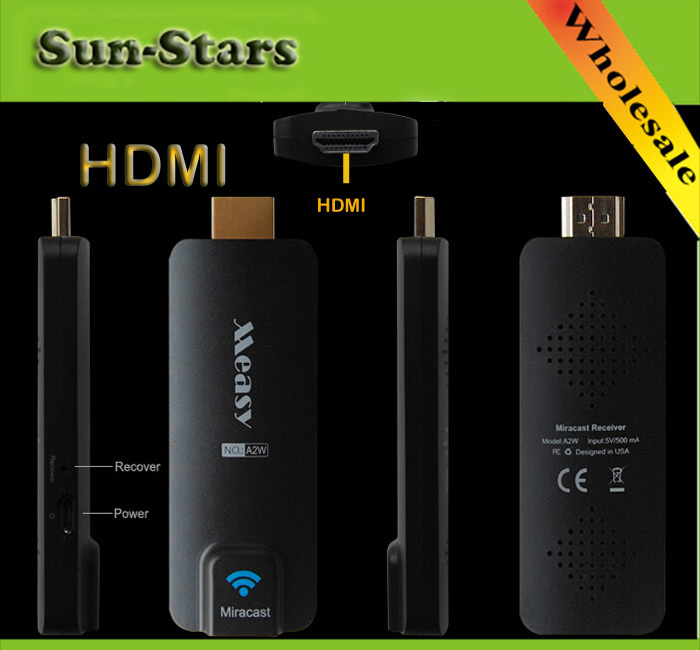 Measy A2W HDMI Miracast Wifi Display TV Receiver Wireless Dongle Ezcast Dlna Airplay Chromecast for Android IOS Windows электроника fastdisk miracast dlna widi dongle wifi ios android tablet pc hdmi
