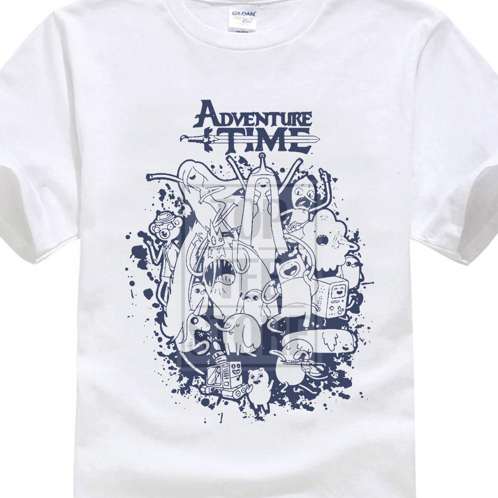 2017 Лидер продаж мужские Приключения Time Group Splat футболка Финн и Джейк Ice King Lemongrab Dd Футболка с принтом собственный Стиль футболки