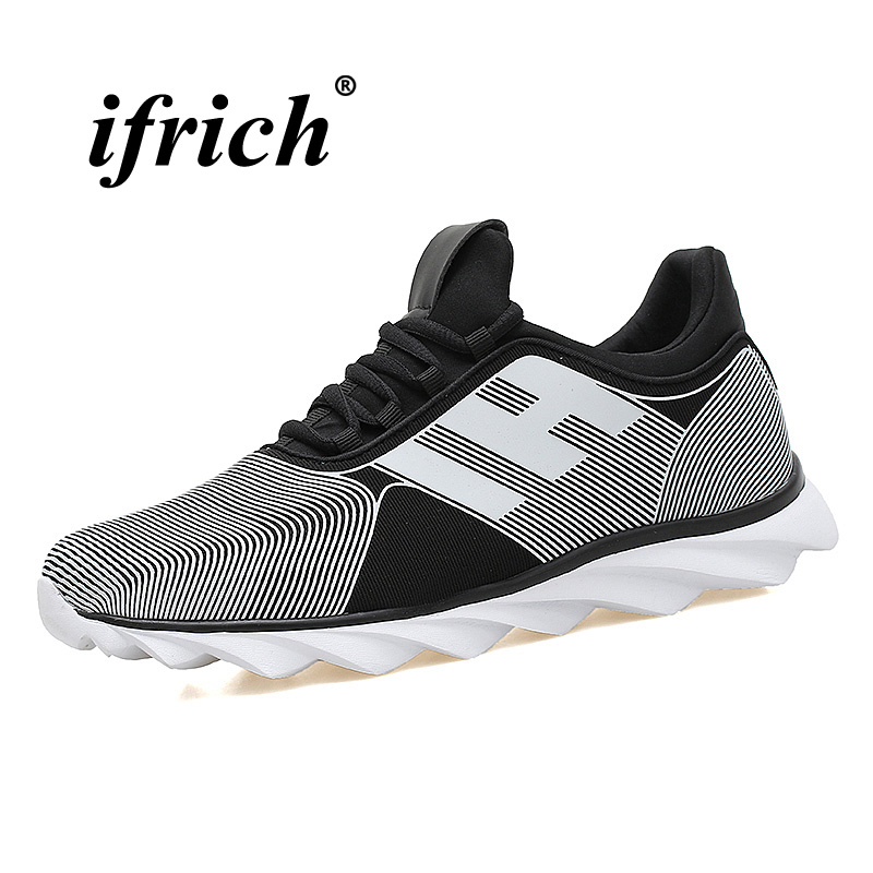 Couples Running Shoes Black Pink Men Sneakers Lace Up Sports Shoes for Woman Breathable Trail Shoes Anti-slip Light Sneakers