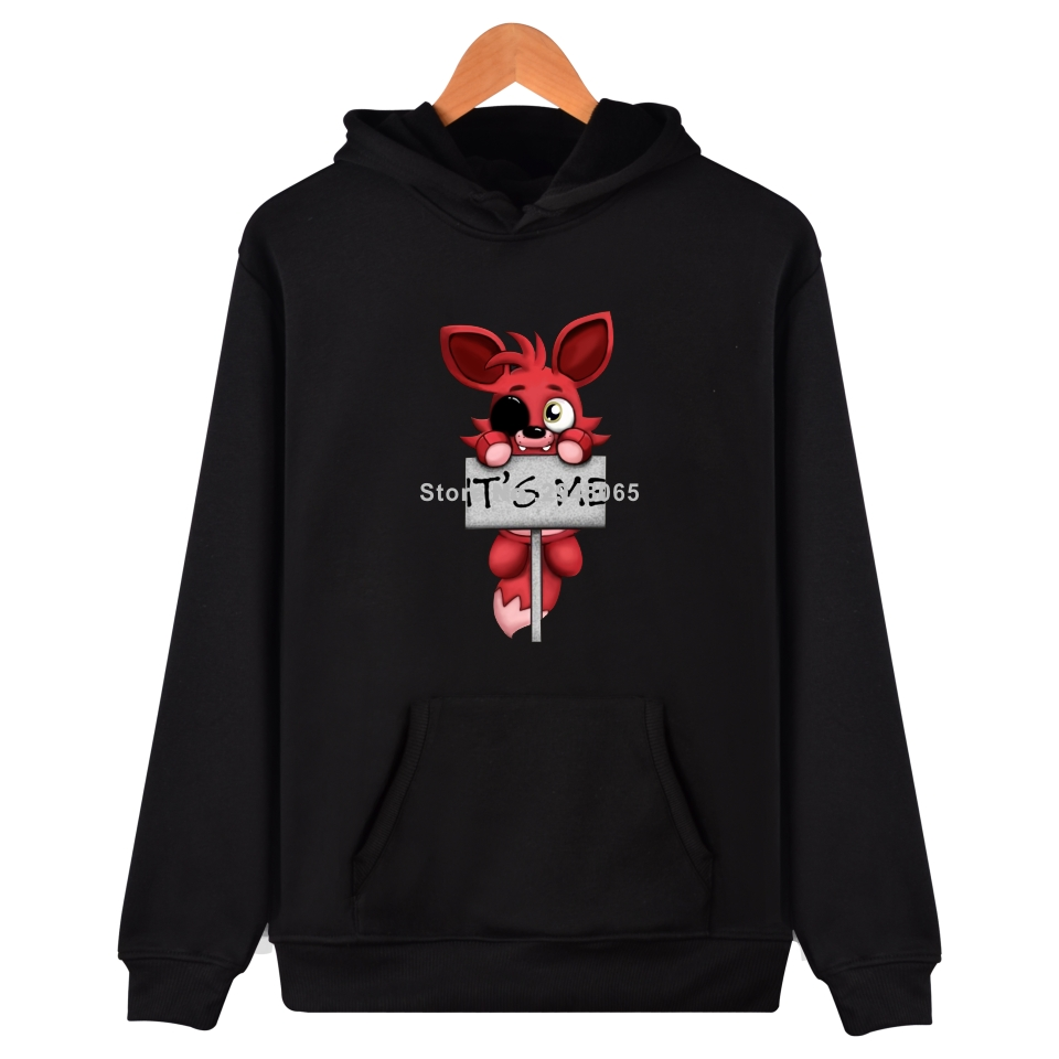 Fnaf Hoodies Sweatshirt Five Nights At Freddy's Jacket Coat Spring Harajuku Cartoon Bear FNAF Hoodie Men Women Sweatshirts Fnaf