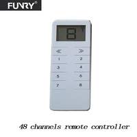 Funry RF433 Light Switch Remote Controller Work With Broadlink RM Pro One Can Control The Whole