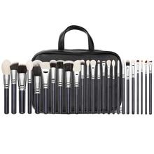 25 sticks makeup brush eye shadow brush bag professional makeup artist makeup brush tool set