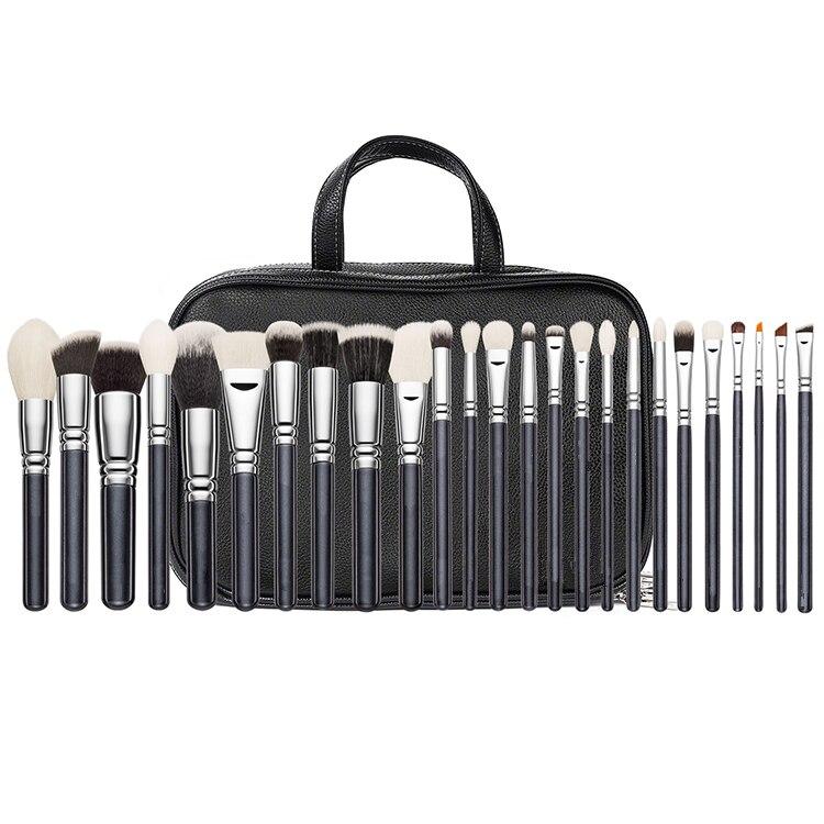 ZOEVA 25 bâtons pinceau à maquillage pinceau pour les yeux sac de maquillage professionnel artiste pinceau à maquillage tool set