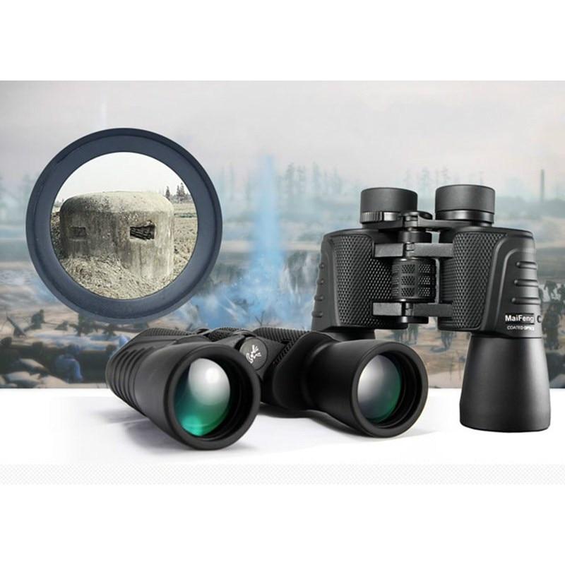20x50 Bak4 Teleskop Professional Telescope HD High Powerful Binoculars Binoculo Waterproof Russian Military Mirror for Hunting стоимость
