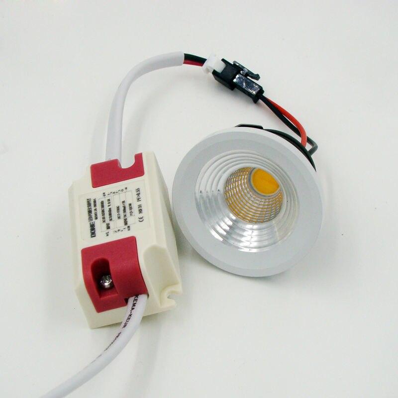 led downlight 3w mini led spot light cabinet lamp cob eyeball gimbal white round recessed led. Black Bedroom Furniture Sets. Home Design Ideas