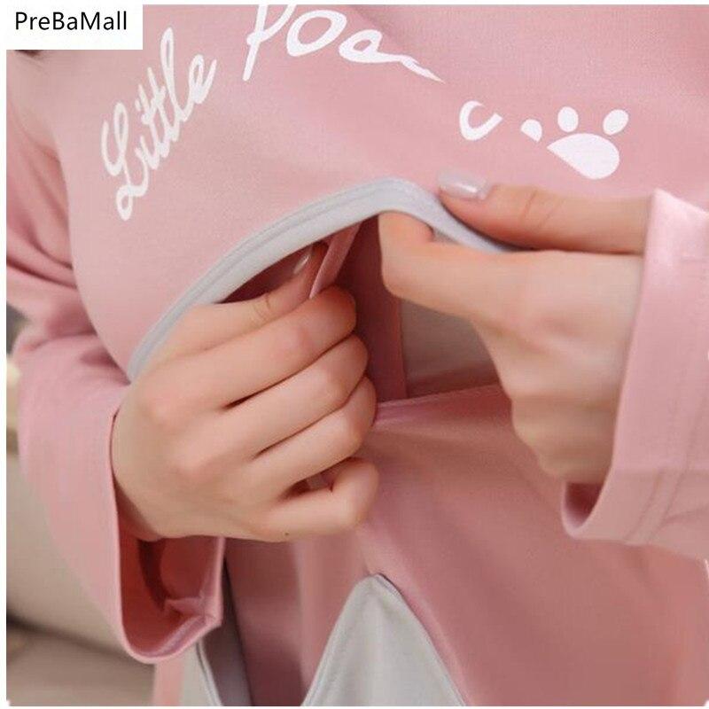 Пижамы для беременных; сезон осень-зима; пижамы для кормящих мам; пижама с длинными рукавами для матерей; женские пижамы; Верхняя одежда; D0044