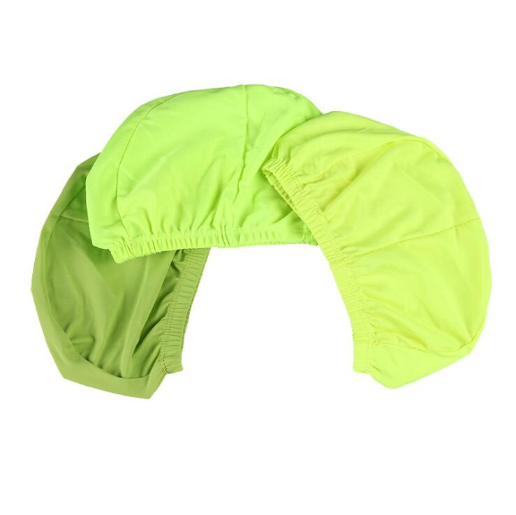 30f20c74caaa US $1.1 26% OFF|Adults Children Kids Nylon Fabric Swim Pool Surf Sports  Bath Shower Ears Protection Swimming Cap Hat Accessories for Men Women-in  ...