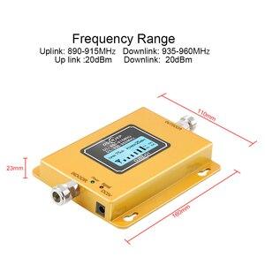 Image 2 - 費用効果的な液晶ディスプレイのgsm Band8 900mhz 2グラム3グラム信号リピータgsmブースター20dbm携帯電話信号ブースターアンプ