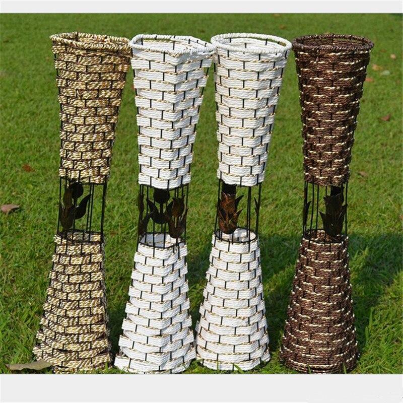 Online Kaufen Großhandel Runde Vase Aus China Runde Vase ... Blumen Behaltern Zu Hause
