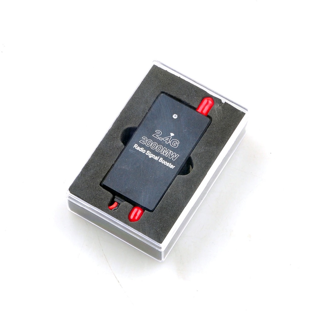 FPV 2.4G 2W 2000mW Mini Radio Signal Booster Amplifier Module for Phantom RC Drone Transmitter FPV Extend Range цена