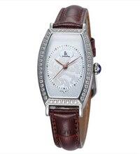 Ik for women's quartz diamond lady watch watch glass