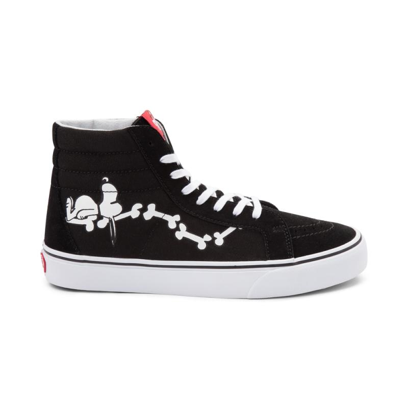 39101505ab Original New Arrival Vans X PEANUTS Men s   Women s Classic SK8 Hi  Skateboarding Shoes Sneakers Canvas Comfortable VN0A2XSBOHL-in Skateboarding  from Sports ...