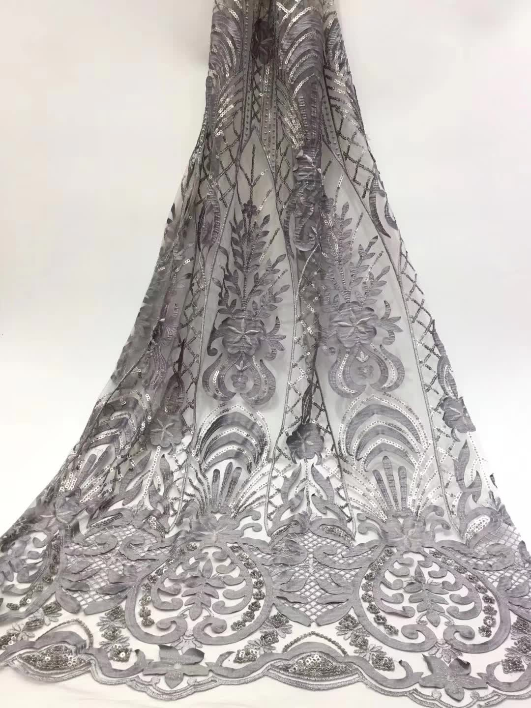 2019 Latest French Nigerian Laces Fabrics High Quality Sequins Tulle African Laces Fabric Wedding French Tulle Lace black2019 Latest French Nigerian Laces Fabrics High Quality Sequins Tulle African Laces Fabric Wedding French Tulle Lace black