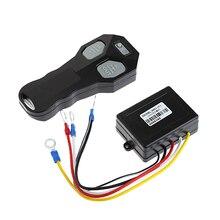 1Set Wireless DC 12V Remote Control Winch Kit For Bulldog Jeep ATV SUV Offroad