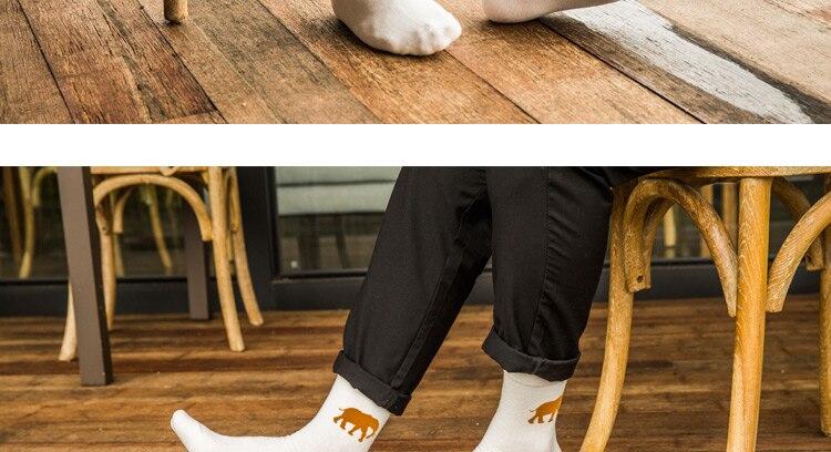 Loomapiltidega meeste sokid