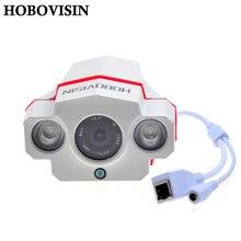 HOBOVISIN ONVIF CCTV H.264 2.0 Megapixel 1920*1080 6 MM de Red IP Al Aire Libre Impermeable Matriz de 2 IR LED Noche visión de Cámaras de Seguridad