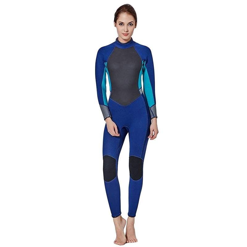 Large Size Women One piece Wetsuit Spearfishing 3mm Neoprene Swimsuit Dive Surf Swim Suit Swimwear Long sleeve Beach Triathlon plus size spearfishing wetsuit 3mm