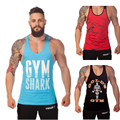 GoldsGym Superman Professional Vest Muscle Fitness Mens Bodybuilding Stringer Tank Top Men Brand gymshark Tops Shirt