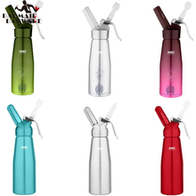 AMC 500ML Artisan Whipped Cream Dispenser, Whipper with Decorating Nozzles Made of Aluminum
