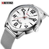 Curren Watches Men Top Brand Luxury Stainless Steel Quartz Watch Sports Men S Watches Waterproof Relogio