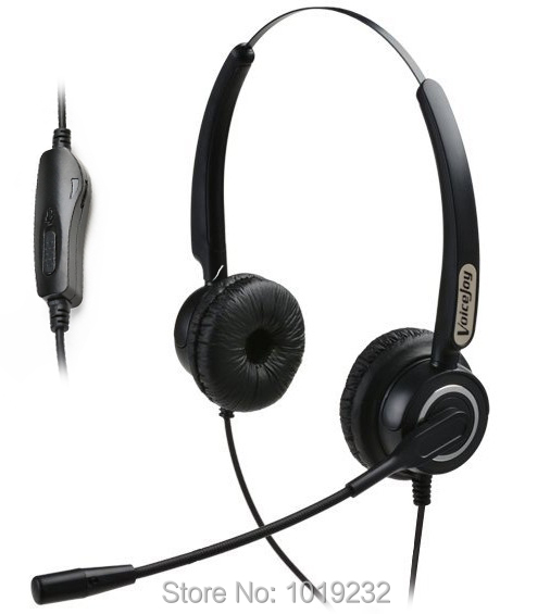 US $24 84 29% OFF|Volume and Mute Headset with Mic ONLY for CISCO IP Phones  7960 7970 7821 7841 7861 8841 8851,8861 8941,8945,8961 etc -in