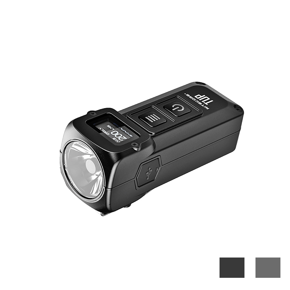 NITECORE TUP USB Rechargeable MINI Torch CREE XP L HD V6 LED max 1000 lumen beam