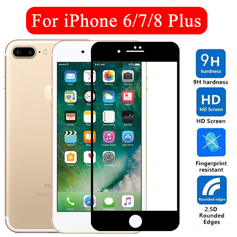 IPhone8plus armored Protective <font><b>glass</b></font> for apple <font><b>iphone</b></font> 7plus screenprotector <font><b>6</b></font> 6s 7 8 8plus plus <font><b>screen</b></font> <font><b>protector</b></font> iph sheet glas image