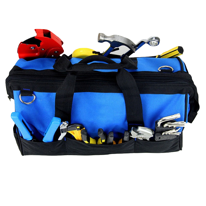 Hoomall Large Capacity Tool Bag Multifunction Oxford Professional Electrician Shoulder Toolkit Waterproof Wearable Tools Bag New clearaudio professional analogue toolkit