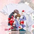 Free Shipping Sekai ichi Hatsukoi BL Anime T Shirt Tee Summer Short Sleeve T-shirt Tops Unisex Cosplay S-XXXL