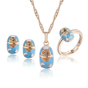 Gold-Color Kids Baby Jewelry S