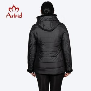 Image 4 - Hotsale חורף מעיל נשי מעיל קצר סלעית בתוספת גודל חם חפתים שעיר נשים מעיל מאנה בגדי אוקראינה מעילי AM 2059