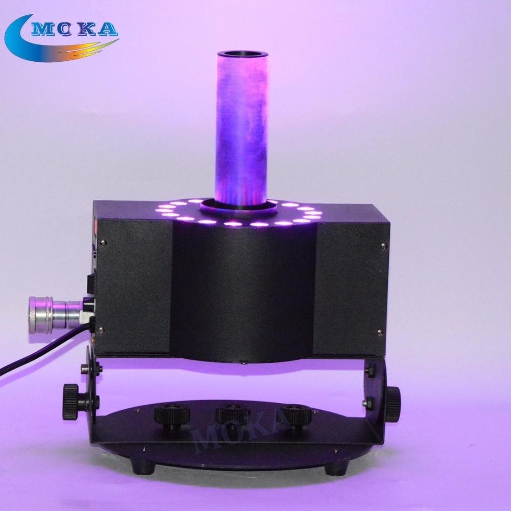 3W*18pcs RGB Stage Effect CO2 Jet Smoke Machine Led CO2 Jet / Co2 Canon Machine + 6M Free Hose 90V-240V