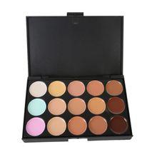 15 Colors Maquiagem Professional Salon Concealer Palette Makeup Party Contour Palette Face Cream Women Makeup Palette цена