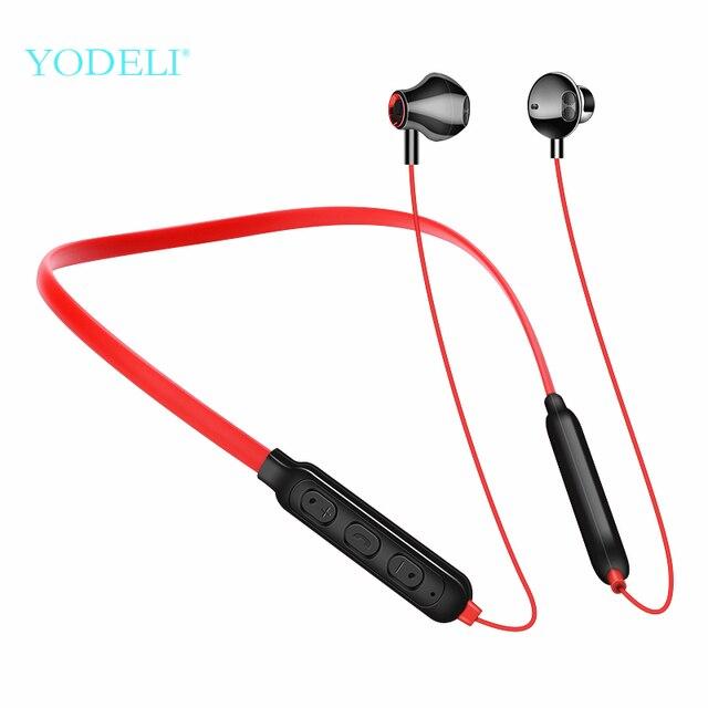 Yodeli Y10 Best Wireless Headphones Handsfree Earphones Bluetooth Earbuds Sport Running Headset with Mic for iPhone xiaomi Phone