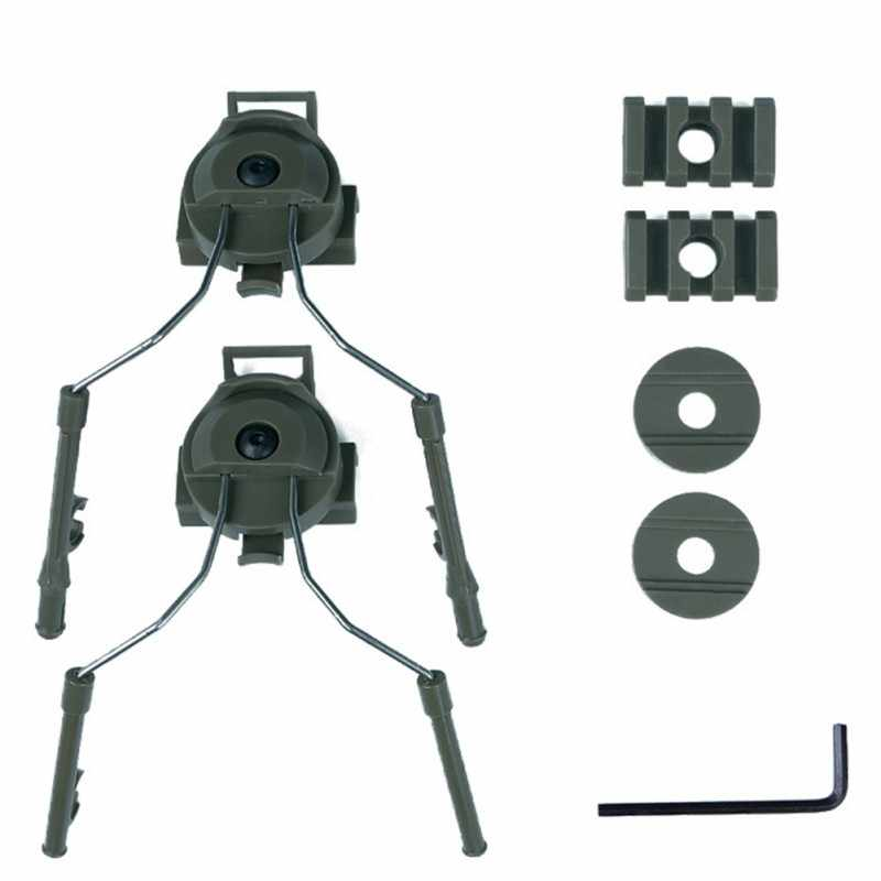 2pcs ARC Rail Adapters Suspension Supports for Tactical Comtac Headset FG#1